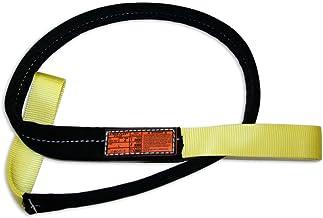 3200 lbs Vertical Load Capacity Stren-Flex EEF1-902-19 Type 3 Heavy Duty Nylon Flat Eye and Eye Web Sling Yellow 19/' Length x 2 Width Stren Flex EEF1-902-19STR 1 Ply 19 Length x 2 Width
