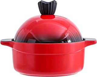 Taji pot 22cm Ceramic Casserole soup 3000ml large capacity Burn without cracking Easy to clean Slow cooker Suitable for ov...