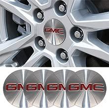 4 x 56.5mm Car Lettering BBS Wheel Center Cap Sticker Wheel Emblem Badge Logo Stickers (fit GMC)