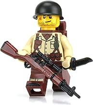 Battle Brick US Army Soldier WW2 (SKU57) Custom Minifigure