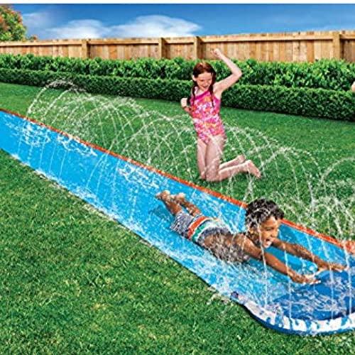 Water slides – Kids speed blast water slide – slip and slide water...