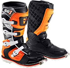 Gaerne SG-J Youth Boots, Distinct Name: Black/Orange, Primary Color: Black, Size: 3, Gender: Boys, Size Segment: Youth