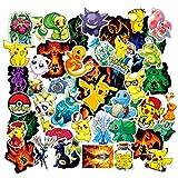 Acekar Pokemon Stickers for Hydro Flask, | 50 PCS | Vinyl Waterproof Stickers for Laptop,Skateboard,Water Bottles,Computer,Phone, Cute Anime Stickers (Pokemon)