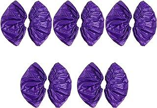 sharprepublic 5 Paar Wiederverwendbar /Überschuhe /Überzieher Schuh/überzieher /Überziehschuhe Schutzschuhe f/ür Schuhe der Gr/ö/ße 35-43 wie beschrieben Lila