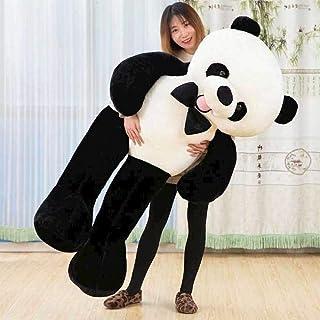 Plush Toy 130Cm Panda Plush Toy Kids Home Bed Pillow Panda Stuffed Animals Toy Gift Cotton Gift Birthday Reward Padding Pl...