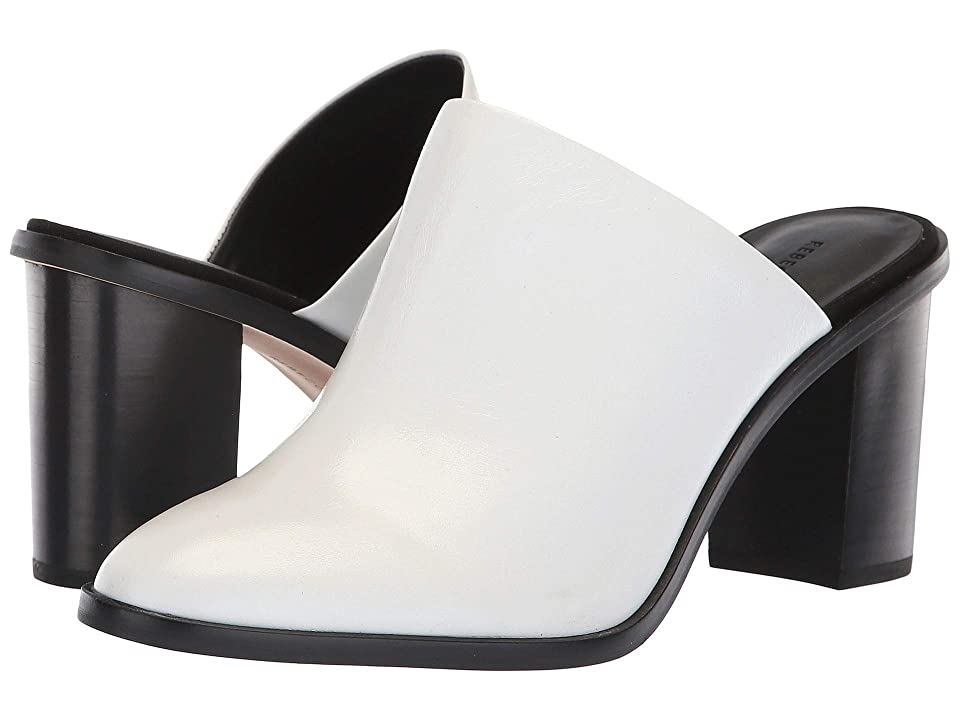 Rebecca Minkoff Gavra (White Shiny Leather) High Heels