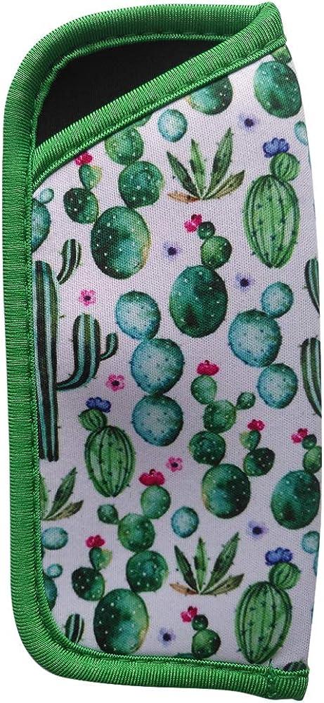 Soft Neoprene Protective Eyeglasses Pouch In Eyeglass & Sunglass Case Holder for Women(Cactus)