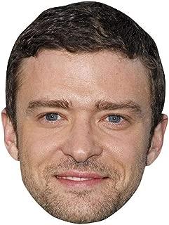 Celebrity Cutouts Justin Timberlake Big Head. Larger Than Life mask.