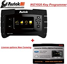 Autek iKey820 – Key fob Programmer by OBD for Locksmith with License