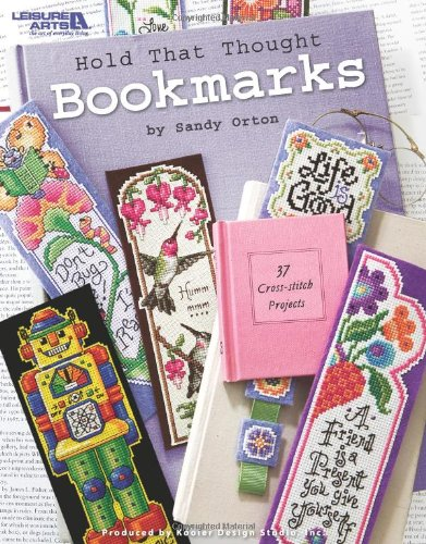 Leisure Arts Hold That Thought Bookmarks Book