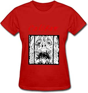 Female Style Short Sleeve Caliban Tee-shirt Size XS Color Red