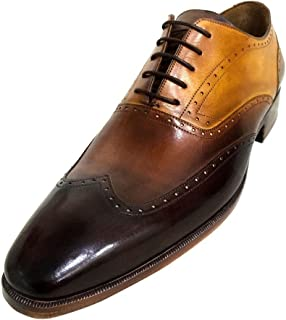 4f8279b0448b Oscar William Edwards Square Men s Luxury Classic Handmade Leather Shoes