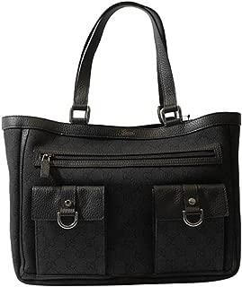 Black Denim Abbey Tote Handbag Purse 268639 1160