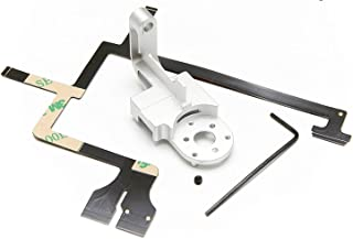 Fstop Labs Replacement for DJI Phantom 3 Gimbal Yaw Arm + Gimbal Cable Kit in CNC Aluminum for Professional/Advanced / 4K
