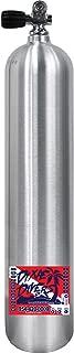 Catalina Brushed Aluminum 40 cf Scuba Cylinder 3000 psi Tec Diving Sidemount Pony Bottle Tank