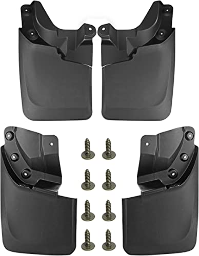 A-Premium Mud Flaps Splash Guards Replacement for Toyota Tacoma 2016-2021 Molded with OEM Fender Flares (Doesn't Fit ...