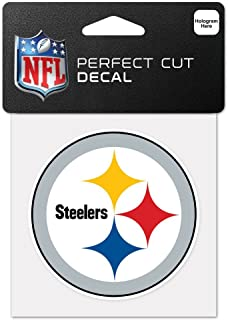 WinCraft NFL Pittsburgh Steelers 63065011 Perfect Cut Color Decal, 4