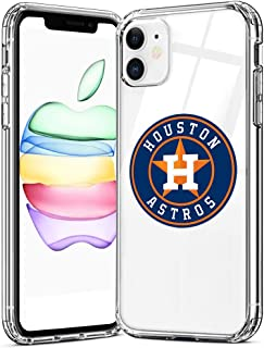 Crystal Clear Case Designed for Apple iPhone 11 Case,Ultra-Thin Clear Flexible Soft TPU Cover Full Protective Bumper for Baseball Sports Lovers,for Men and Women TMB-11-285