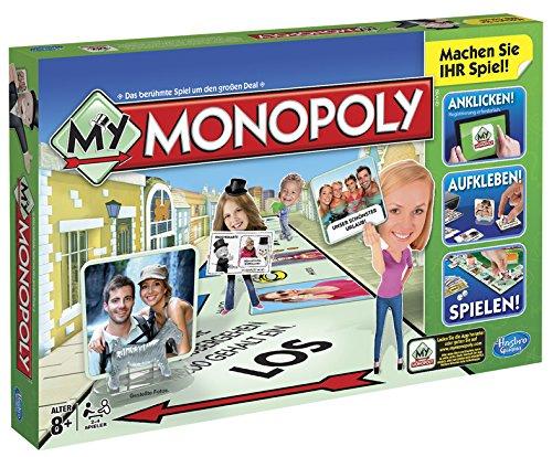 Hasbro A8595100 - My Monopoly, Familien-Brettspiel, deutsche Version