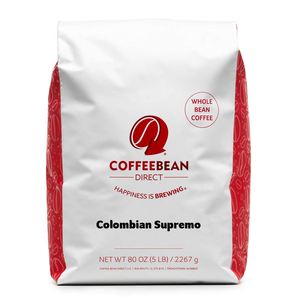 In a popularity Coffee Shipping included Bean Direct Colombian 5-Pound Supremo Whole