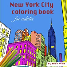 New York City Coloring Book For Adults (Coloring Books) (Volume 1)