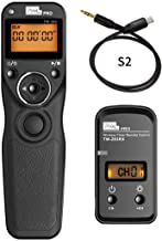 Pixel TW-283 pro S2 Micro Single Camera Wireless Shutter Remote Control for Sony Micro Single A7 A7II A7R A7MII A9 A99 A77 A6300 A5100 Self-Timer Star Track Delayed Shooting