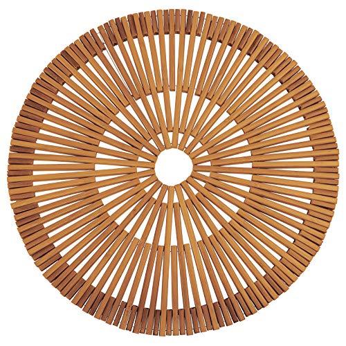 Westmark Set de Table en Bambou, Fait à la Main, Rond, ø 38 cm, Bambou, Edition Saleen: Rondo, Brun, 701422E1