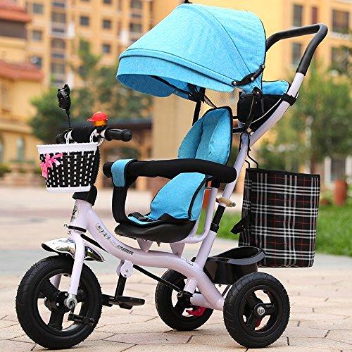 Children's bike Cochecito de bebé de los Hombres y de Las Mujeres, Bici, Triciclo de los niños, Carretilla Ligera, Bici de los niños (Color : # 4)