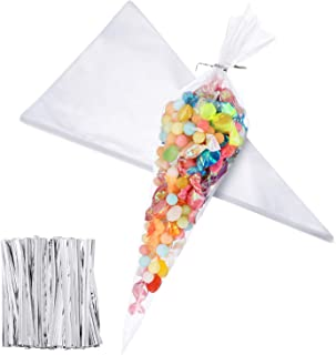 Best clear sweet cone bags Reviews
