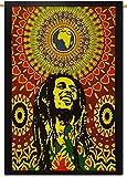 Third Eye Export Decorative Bob Marley One Love Tapestry Wall Decor/Ethnic Wall Hanging Art/Hippie Wall Art/Boho Poster (Bob Marley Laughing)