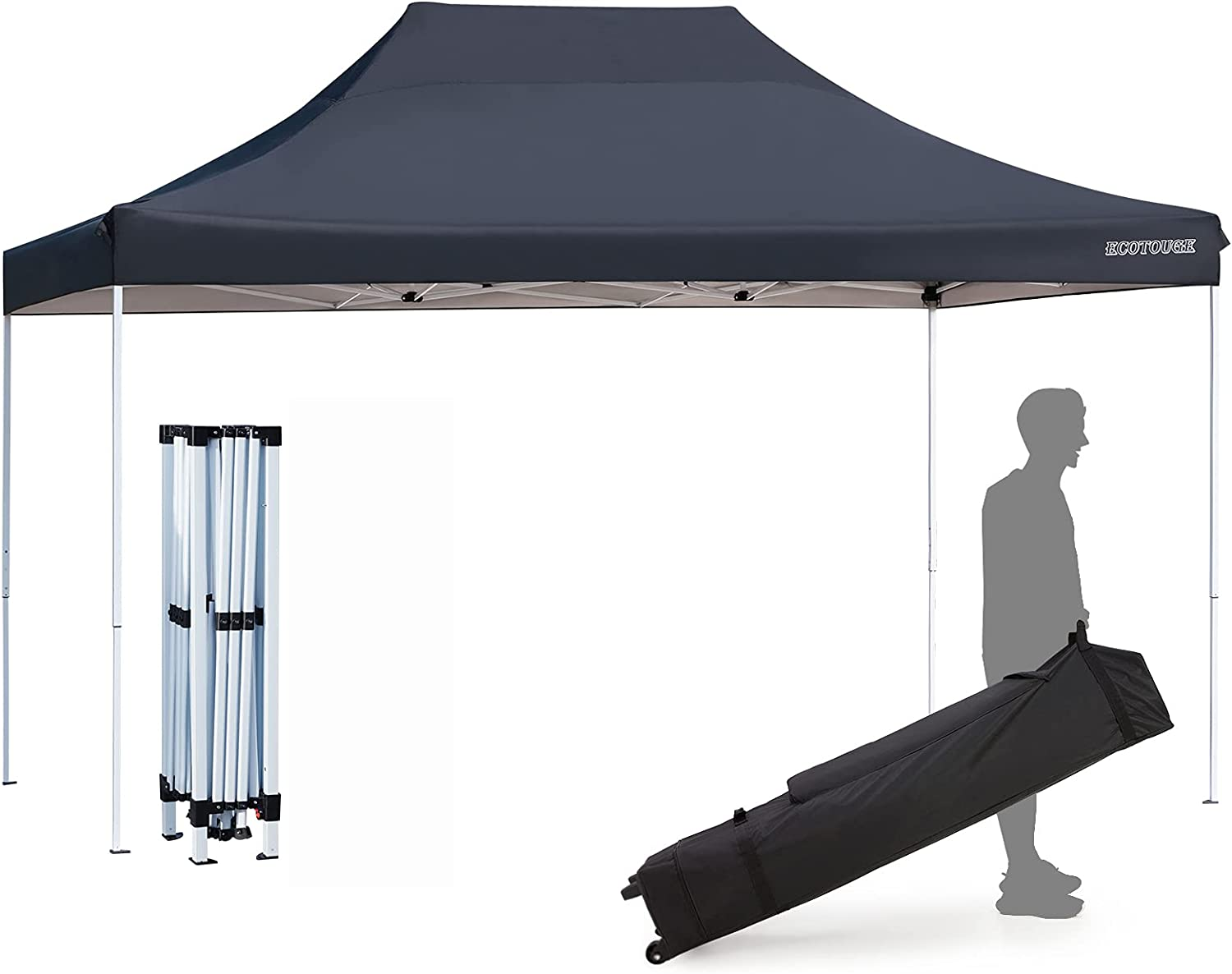 ECOTOUGE Cheap bargain 10x15 Ft Popup Canopy Wedding Shelter price Gazebo Tent Party
