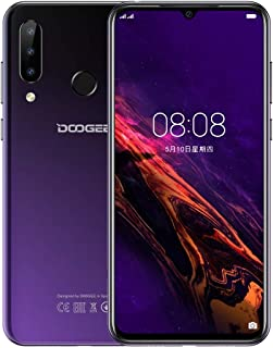 Mobile phone N20, 4GB+64GB, Triple Back Cameras, Fingerprint Identification, 4350mAh Battery, 6.3 inch Waterdrop Notch Screen Android 9.0 Pie MTK6763V Octa Core up to 2.0GHz, Network: 4G, Dual SIM(Bla