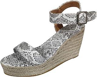 Zapatos Amazon Sandalias Serpiente De Vestir Para esEstampado mYfbI6yv7g