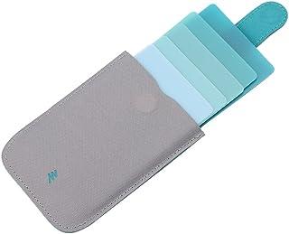 Sqiuxia Waterproof ID Credit Card Holder Credit Debit Cards Protector Gradient Wallet Business Cards Case for Men Women