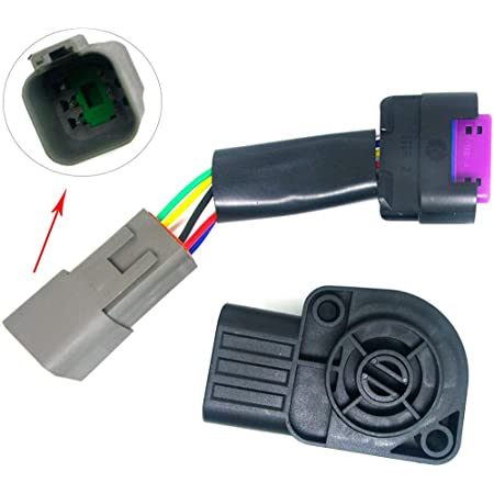 12167121 12085247 12101880 556 6 Wire Throttle Position Sensor TPS Connector Pigtail Wiring LS1 LS6 For Corvette Cadillac