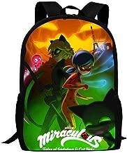 Jinsuin Mir-aculous Halloween Special Unisex Backpack Casual Daypacks School Bag Laptop Travel Bookbag for Women Men Kids