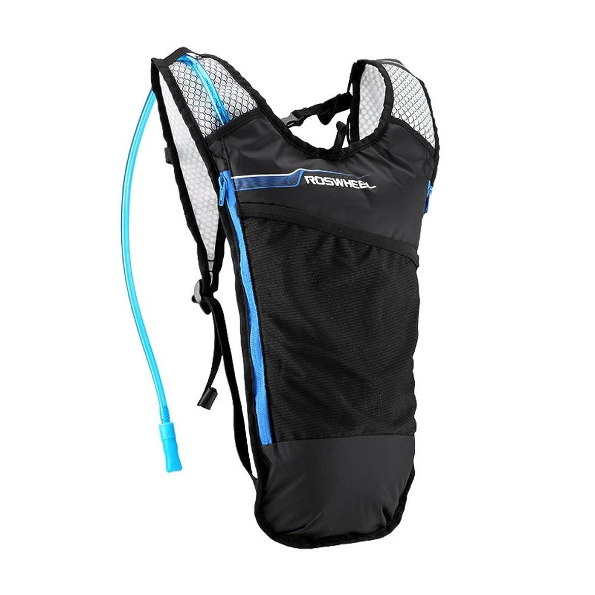 ズームあたり傷つけるRoloiki 超軽量アウトドア自転車サイクリング自転車乗馬ハイキングは水和ナップザック5Lバックパック+ 2Lの水膀胱バッグを実行します【並行輸入品】