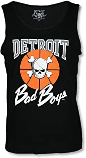 Detroit Pistons Bad Boys Apparel- Historic NBA Men's Tank Top