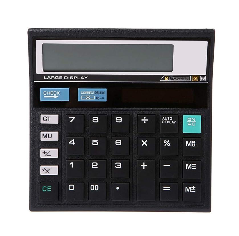 リハーサルスナッチアルコールMeich デスクトップ電卓 ソーラーバッテリー デュアルパワー 10桁 LCDディスプレイ 大きな感度ボタン ベーシックオフィス製品 電子多機能計算機 KA07