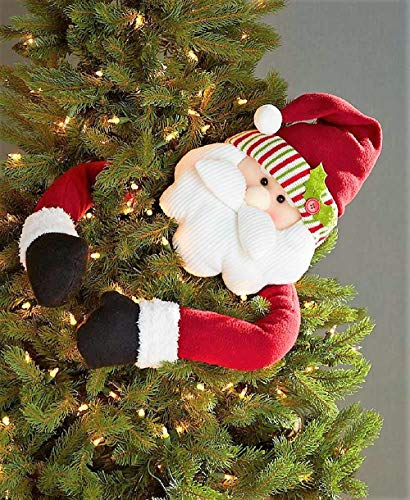 The Lakeside Collection Holiday Tree Huggers - Santa (41 inches)