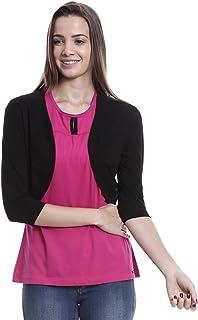40d0addeda Blacks Women's Shrugs & Capes: Buy Blacks Women's Shrugs & Capes ...