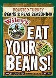 Wiley's Roasted Turkey Beans & Peas Seasoning-6 packages (1oz each)