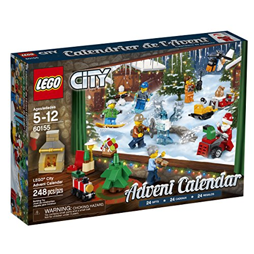 LEGO City Advent Calendar 60155 Building...
