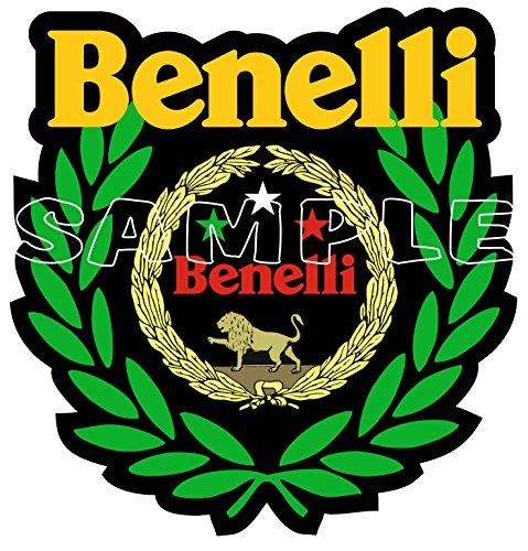 60MM Benelli Winner Sticker, use on Motorbikes, Scooters, Helmets, Leg Shields.…
