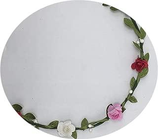 Bridal Wreath Hairbands For Women Bridesmaid Wreath Hair Accessories For Women Wedding Headdress Beach Wedding Decorations