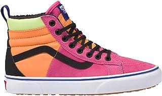 Vans SK8 Hi 46 MTE DX Shoes UK 4 Pink Yarrow Tangerine Black