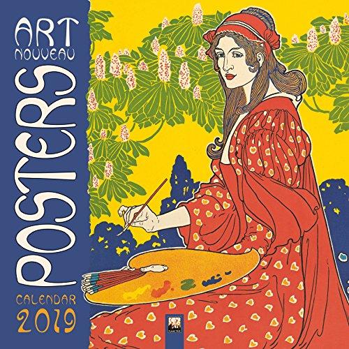 Art Nouveau Posters – Jugendstil 2019 (Wall-Kalender)