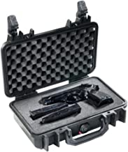 Pelican 1170 Black Watertight Hard Case with Pick-N-Pluck Foam, 1 Each