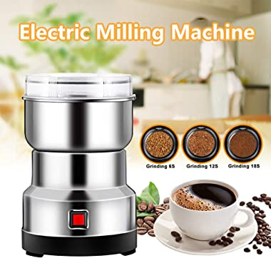 Multifunction Smash Machine Household Electric Cereals Grain Grinder Coffee Bean Seasonings Spices Milling Ultra Fine Dry Food Powder Machine