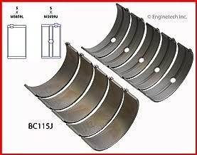 ENGINETECH BC115J MAIN BEARINGS Fits: DODGE CHRYSLER JEEP 5.7L HEMI & 6.1L HEMI RAM DURANGO CHEROKEE CHARGER CHALLENGER MAGNUM (STD SIZE)